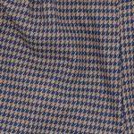 Tweed blu e marrone